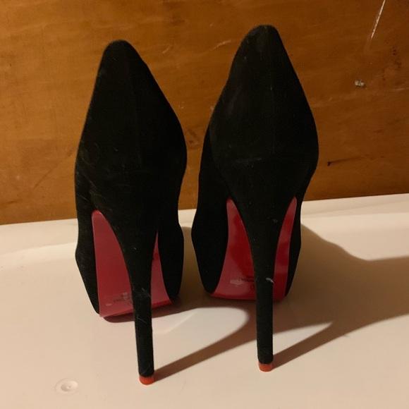 bb4cef536e8 Red bottom Alba Black Heels